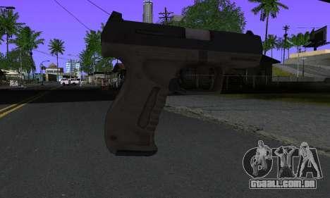 Walther P99 Bump Mapping v2 para GTA San Andreas segunda tela