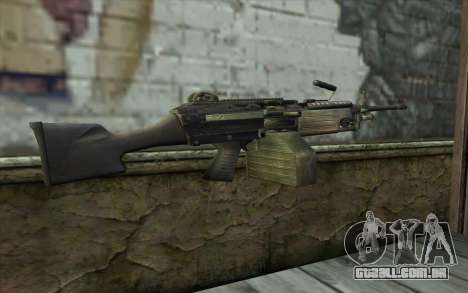 FN M249E2 SAW from SoF: Payback para GTA San Andreas segunda tela