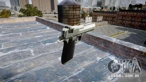 Пистолет IMI Desert Eagle Mk XIX Chrome para GTA 4 segundo screenshot