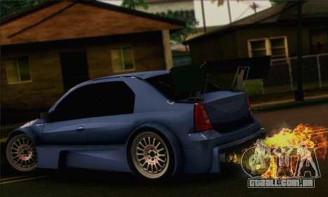 Dacia Logan Trophy Edition 2005 para GTA San Andreas esquerda vista