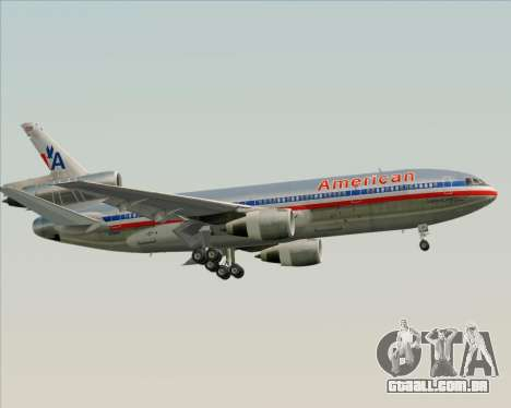 McDonnell Douglas DC-10-30 American Airlines para o motor de GTA San Andreas
