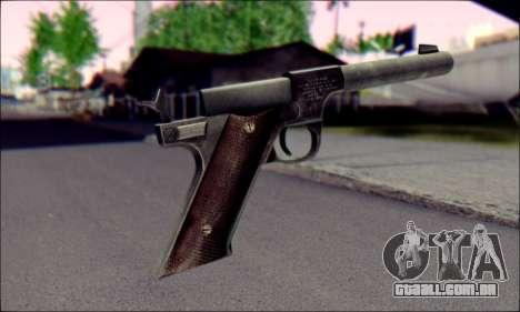 Silenced Pistol from Death to Spies 3 para GTA San Andreas segunda tela