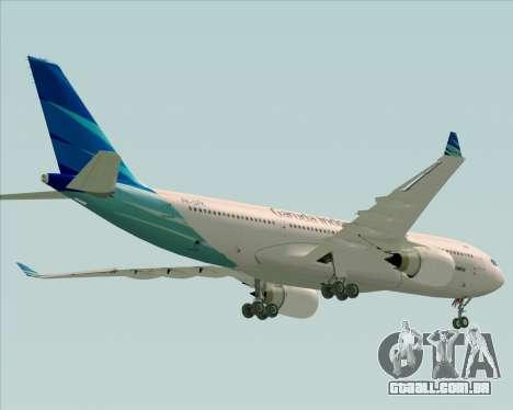 Airbus A330-243 Garuda Indonesia para o motor de GTA San Andreas