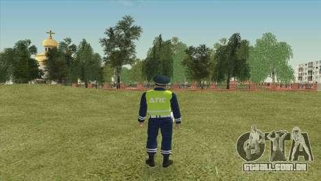 O Sub-inspector DPS para GTA San Andreas segunda tela