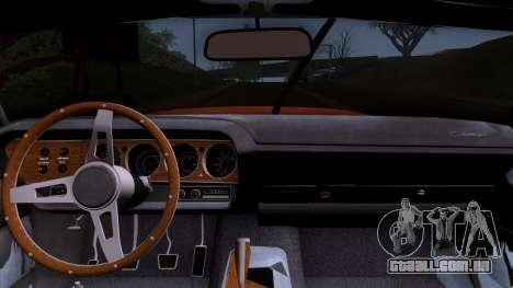 Dodge Challenger 426 Hemi (JS23) 1970 (ImVehFt) para GTA San Andreas