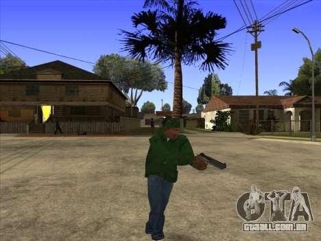 Cleo Walk Style para GTA San Andreas terceira tela