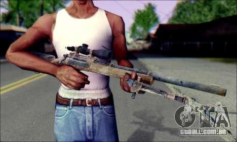 M24Jar rifle Sniper de SGW2 para GTA San Andreas terceira tela