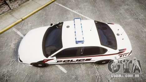 Chevrolet Impala 2003 Liberty City Police [ELS] para GTA 4 vista direita