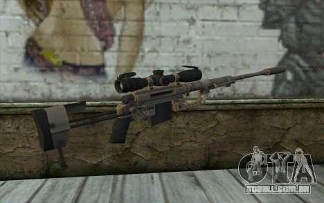 Sniper Rifle Cheytac M200 Intervenção para GTA San Andreas segunda tela