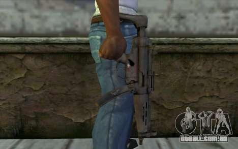 MP5 from FarCry 3 para GTA San Andreas terceira tela