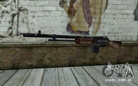 BAR-1918 from Day of Defeat para GTA San Andreas