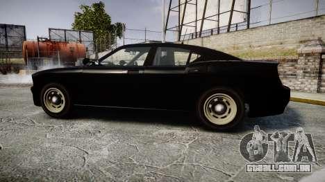 GTA V Bravado Buffalo Unmarked [ELS] Slicktop para GTA 4 esquerda vista