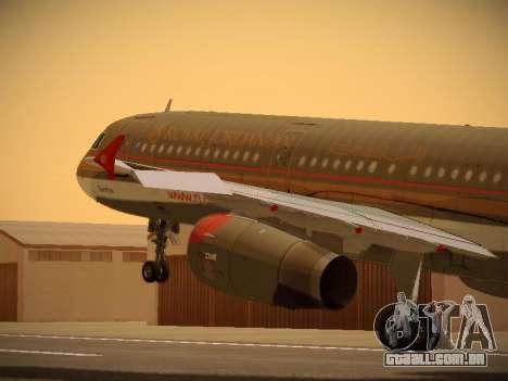 Airbus A321-232 Royal Jordanian Airlines para GTA San Andreas