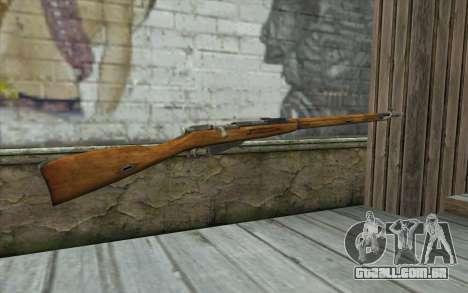 O Mosin-v5 para GTA San Andreas segunda tela