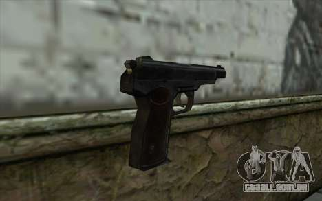 АПС a partir de Meia - Vida Paranóia para GTA San Andreas segunda tela