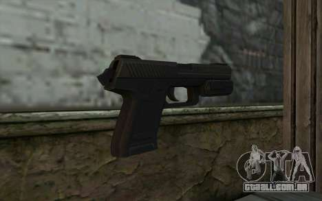 Pistol from Deadpool para GTA San Andreas segunda tela