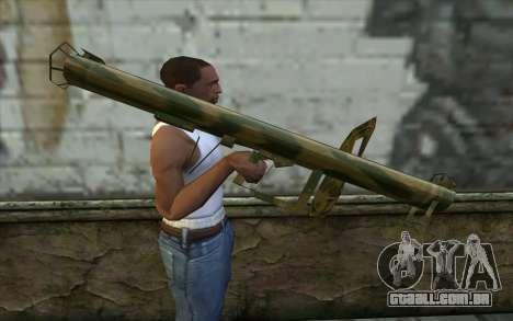 Panzerschreck a partir do Dia da Derrota para GTA San Andreas terceira tela