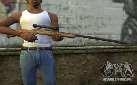 M40 from Battlefield: Vietnam para GTA San Andreas terceira tela