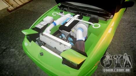 Nissan 240SX S13 Tuned para GTA 4 vista lateral