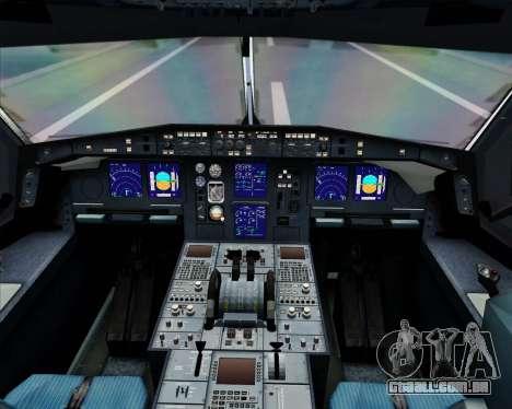 Airbus A340-600 EgyptAir para GTA San Andreas interior