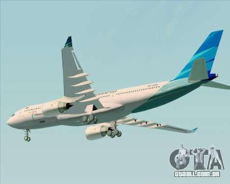 Airbus A330-243 Garuda Indonesia para GTA San Andreas
