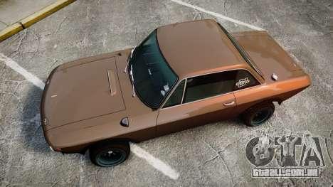 Lancia Fulvia HF (Camber) para GTA 4 vista direita
