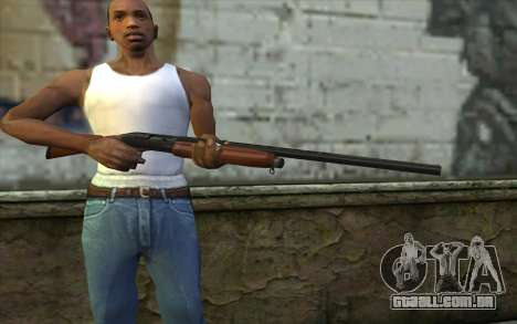 MP-153 Murka para GTA San Andreas terceira tela