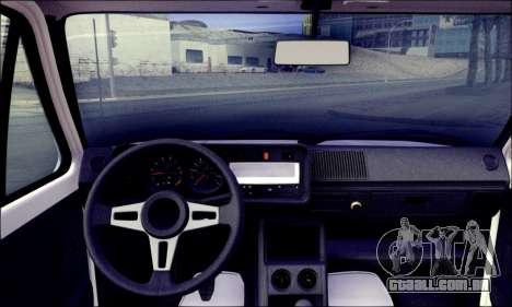 Volkswagen Golf Mk1 para GTA San Andreas traseira esquerda vista