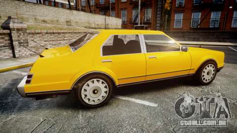 Albany Romans Taxi para GTA 4 esquerda vista