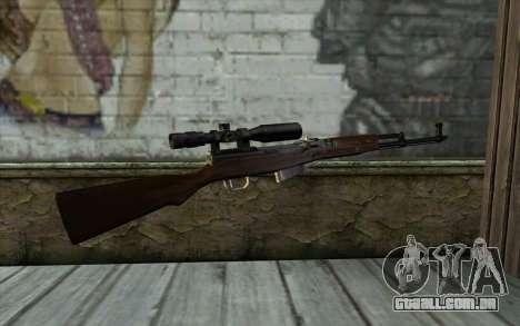 SCS com uma Ótica Visão para GTA San Andreas segunda tela