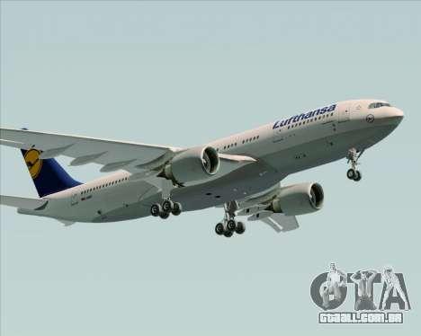 Airbus A330-200 Lufthansa para as rodas de GTA San Andreas