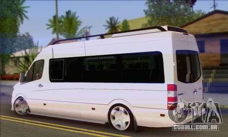 Mercedes-Benz Sprinter Servis para GTA San Andreas esquerda vista