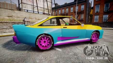 Opel Manta B GTE para GTA 4 esquerda vista