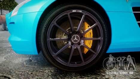 Mercedes-Benz SLS AMG v3.0 [EPM] Kotori Minami para GTA 4 vista de volta
