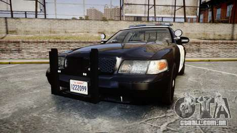 Ford Crown Victoria CHP CVPI Liberty [ELS] para GTA 4