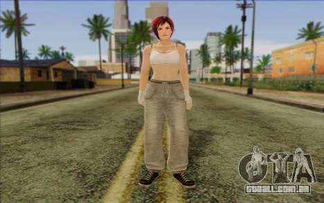 Mila 2Wave from Dead or Alive v14 para GTA San Andreas