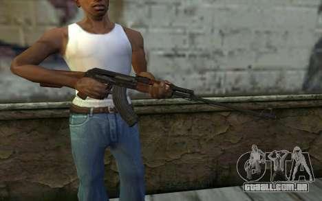 RPK 74 from Battlefield 4 para GTA San Andreas terceira tela