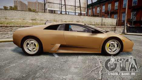Lamborghini Murcielago 2005 para GTA 4 esquerda vista