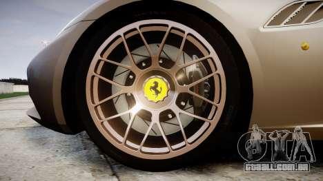Ferrari California [EPM] para GTA 4 vista de volta