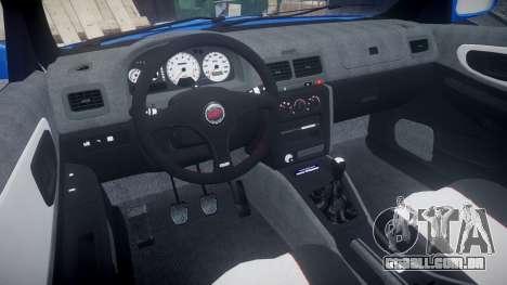 Subaru Impreza WRC 1998 World Rally para GTA 4 vista de volta