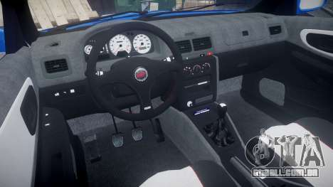 Subaru Impreza WRC 1998 SA Competio para GTA 4 vista de volta