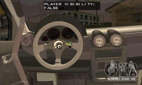 Dacia Logan Trophy Edition 2005 para GTA San Andreas traseira esquerda vista