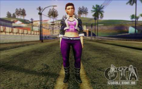 Shaundi from Saints Row The Third para GTA San Andreas