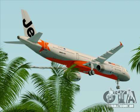 Airbus A321-200 Jetstar Airways para GTA San Andreas