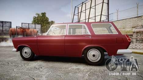 FSO Warszawa Ghia Kombi 1959 para GTA 4 esquerda vista