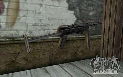 MP-40 from Day of Defeat para GTA San Andreas segunda tela
