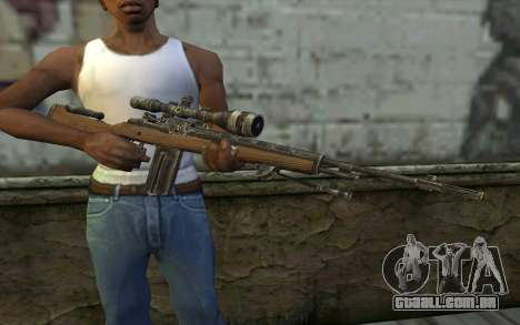 M21 from Battlefield: Vietnam para GTA San Andreas terceira tela