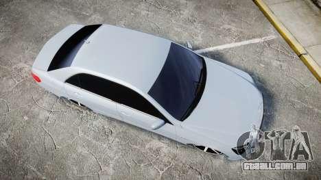 Mercedes-Benz E63 W213 AMG 2014 Vossen para GTA 4 vista direita
