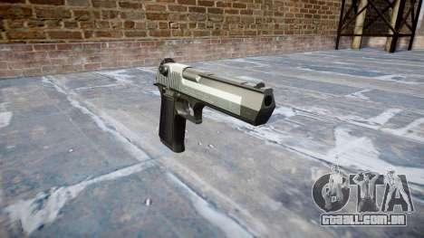 Пистолет IMI Desert Eagle Mk XIX em Dois tons para GTA 4