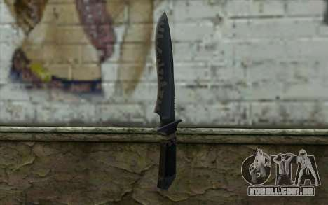 Knife from CS:S Bump Mapping v1 para GTA San Andreas